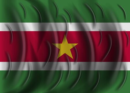 suriname: suriname wind flag