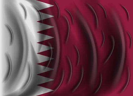 qatar: qatar wind flag