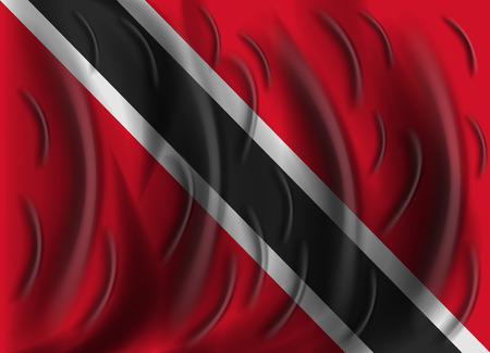 trinidad and tobago: trinidad and tobago wind flag
