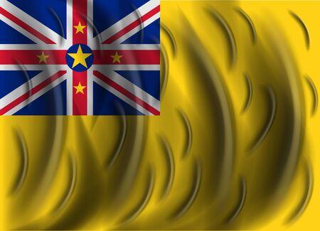 niue: niue wind flag