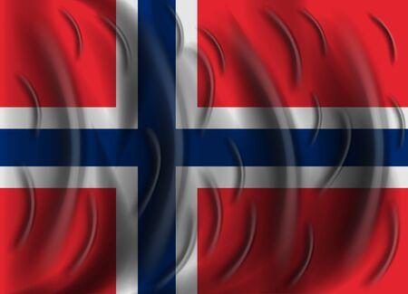 norway flag: norway wind flag