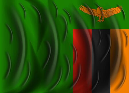 zambia: zambia wind flag