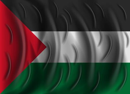 palestine: palestine wind flag