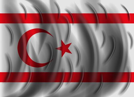 cyprus: northern cyprus wind flag