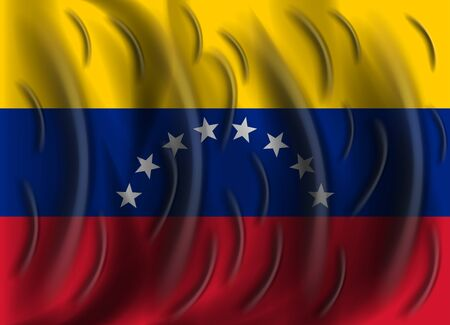 venezuela: venezuela wind flag Illustration