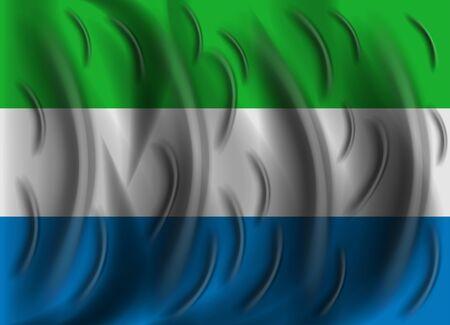 leone: sierra leone wind flag