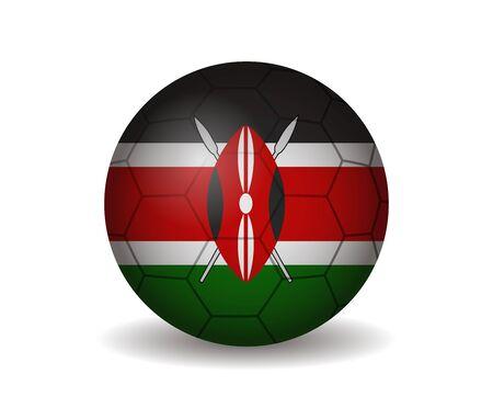 kenya: kenya soccer ball