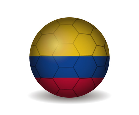 kickball: colombia soccer ball