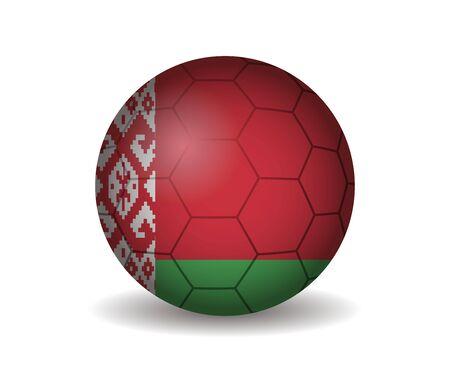 kickball: belarus soccer ball