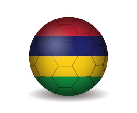mauritius: mauritius soccer ball