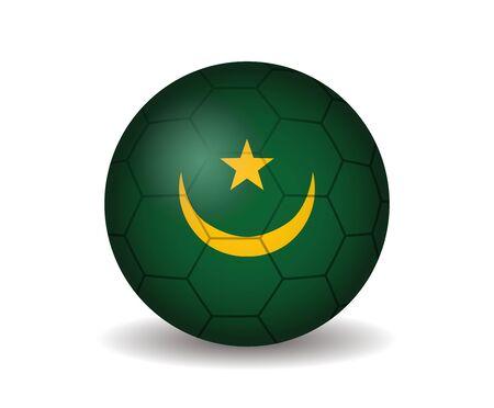 league of nations: mauritania  soccer ball