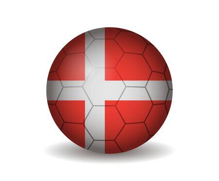 league of nations: denmark soccer ball