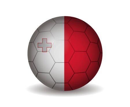 malta: malta soccer ball