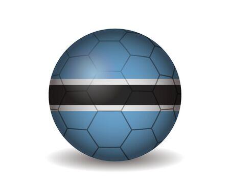 kickball: botswana soccer ball