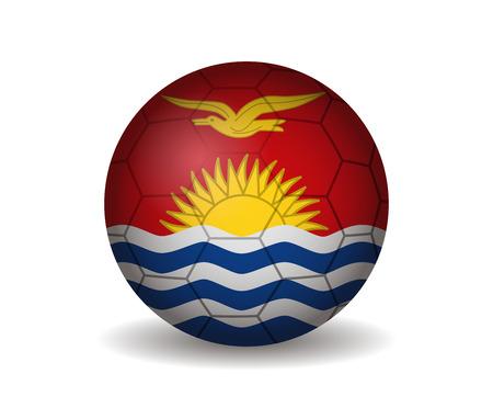 league of nations: kiribati soccer ball