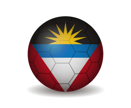 antigua: antigua and barbuda soccer ball