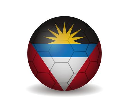 antigua and barbuda: antigua and barbuda soccer ball