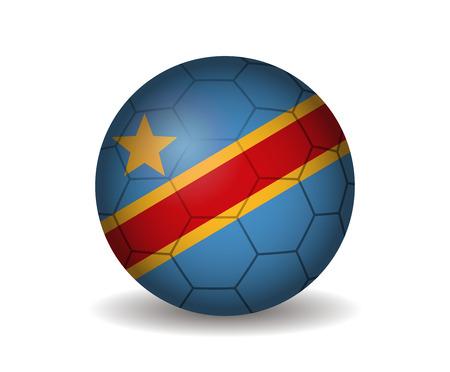 kickball: congo soccer ball