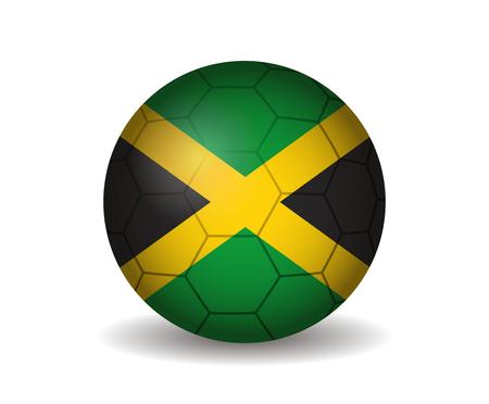 jamaica: jamaica soccer ball