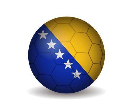 herzegovina: bosnia and herzegovina soccer ball