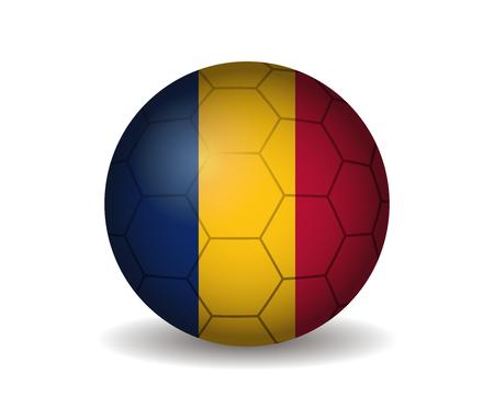chad: chad soccer ball Illustration