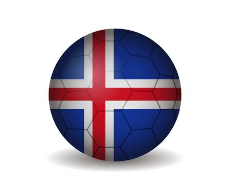 league of nations: iceland soccer ball