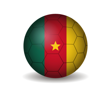 league of nations: cameroon soccer ball