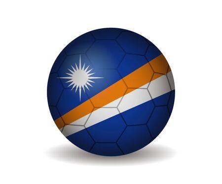 marshall: marshall islands soccer ball