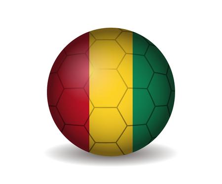 league of nations: guinea soccer ball