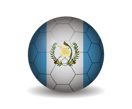 league of nations: guatemala soccer ball