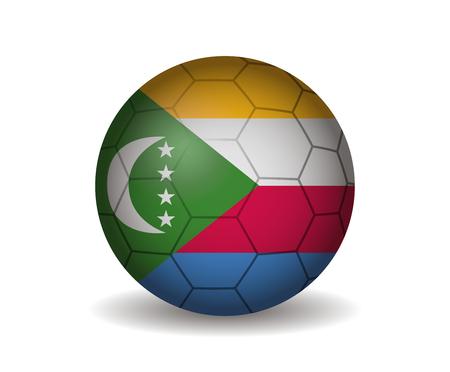 comoros: comoros soccer ball