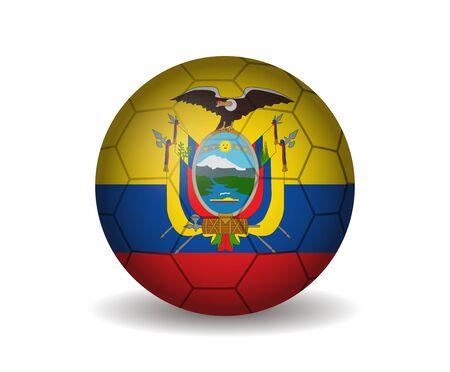 league of nations: ecuador soccer ball