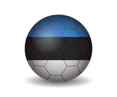 league of nations: estonia soccer ball