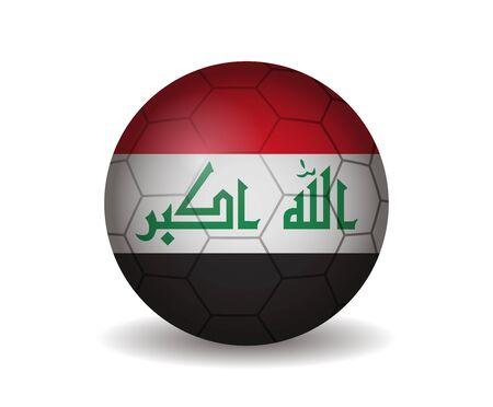 league of nations: iraq soccer ball