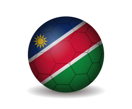 league of nations: namibia soccer ball