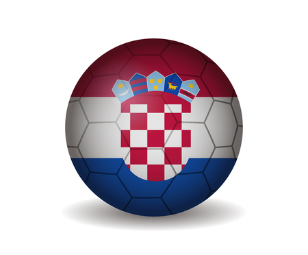 croatia: croatia soccer ball