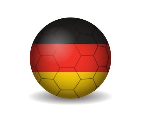 kickball: germany soccer ball