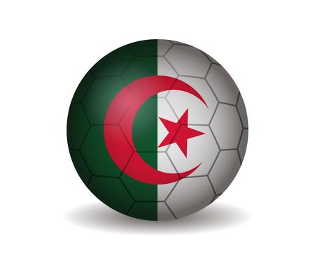 league of nations: algeria soccer ball