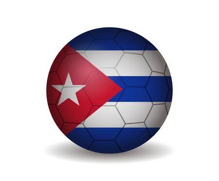 league of nations: cuba soccer ball