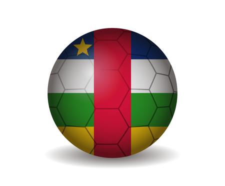 kickball: central african soccer ball