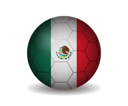 league of nations: mexico soccer ball
