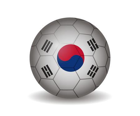 league of nations: south korea soccer ball