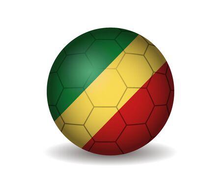 league of nations: republic congo soccer ball