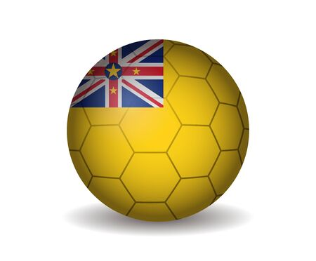 league of nations: niue soccer ball