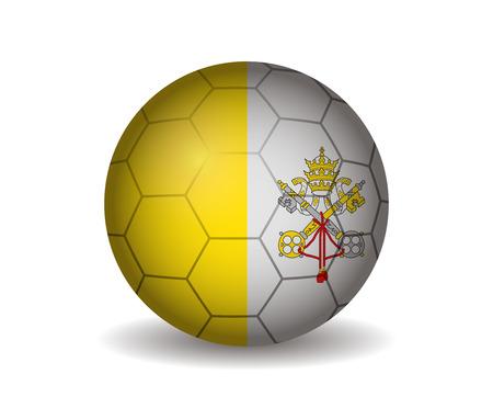 vatican city soccer ball