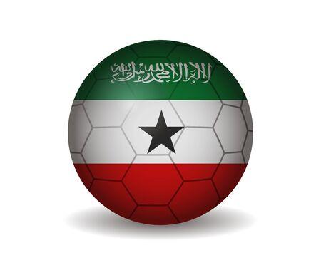 somaliland: somaliland soccer ball