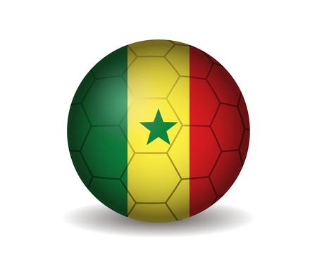 senegal: senegal soccer ball