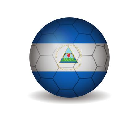 kickball: nicaragua soccer ball