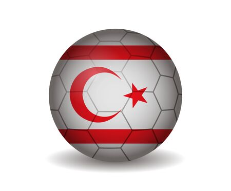 league of nations: northern cyprus soccer ball