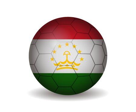 tajikistan: tajikistan soccer ball
